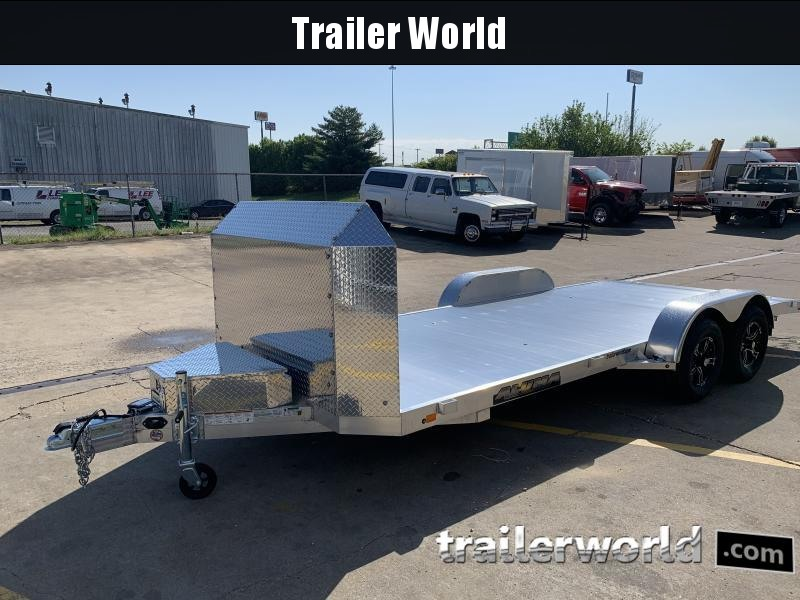 2022 Aluma 8218 Open Car Hauler Trailer Anniversary Edition