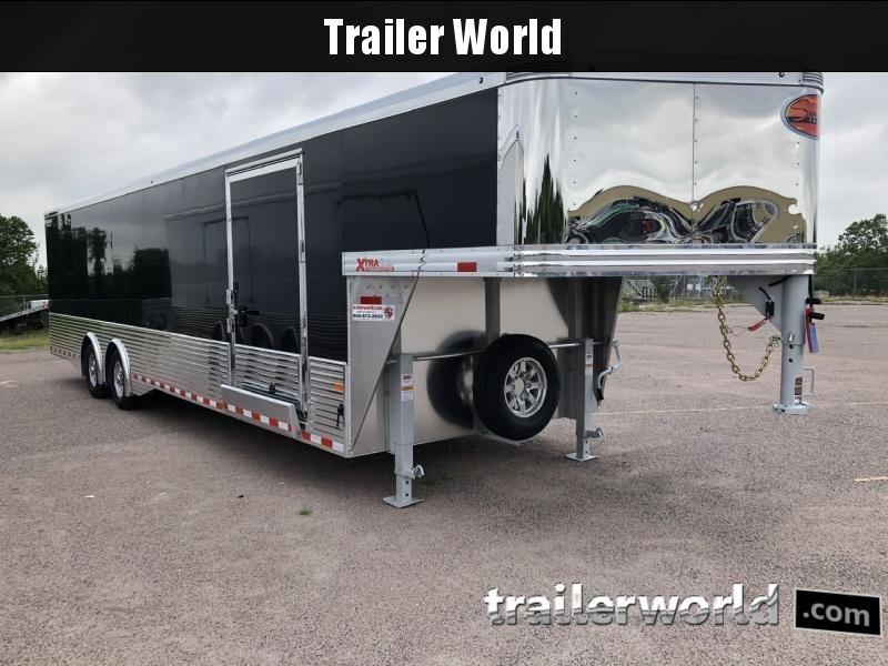 2021 Sundowner XTRA 38' Aluminum Gooseneck Enclosed Car Trailer