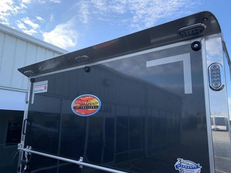 2021 Sundowner XTRA 38' Aluminum Gooseneck Enclosed Car Trailer