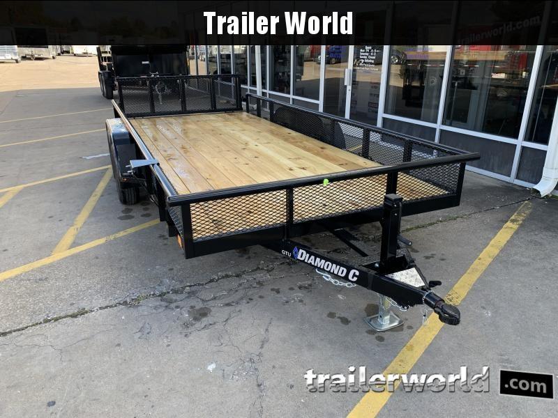 2021 Diamond C Trailers GTU 16' Utility Trailer