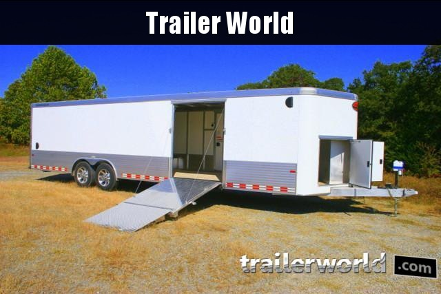 2019 Sundowner 30' Custom Aluminum Enclosed Car / Cargo Trailer CLEARANCE!