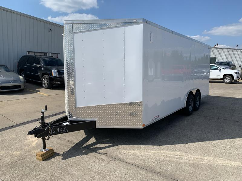 2021 Lark 8.5' x 20' Enclosed Cargo Ramp Door