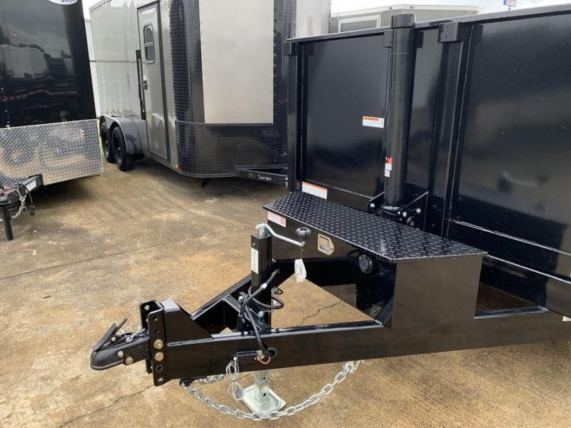2021 Sure-Trac 14' Telescopic Dump Trailer 14k