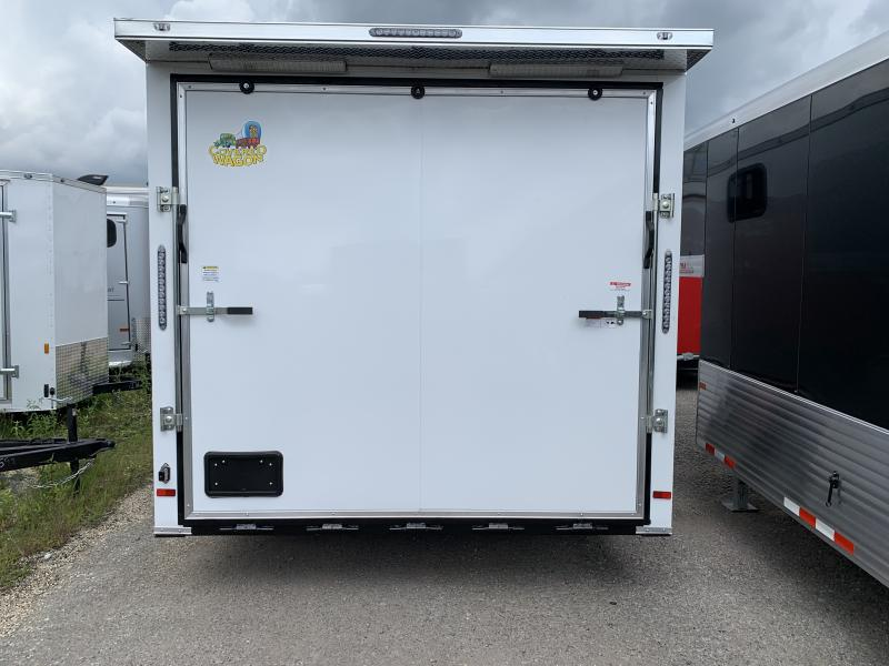 2021 Covered Wagon Trailers 8.5x16TA Enclosed Cargo Trailer