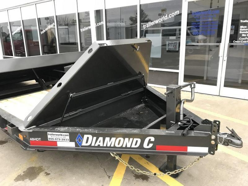 2020 Diamond C HDT 20' Tilt-Bed Equipment Trailer 8 Ton