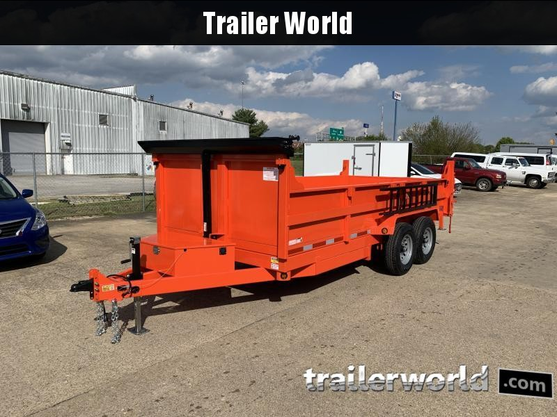 2022 Quality Steel 16' Dump Trailer 14K GVWR