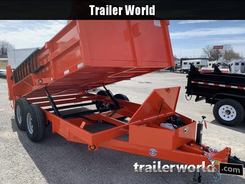 2022 Quality Steel 16' Dump Trailer 14K GVWR