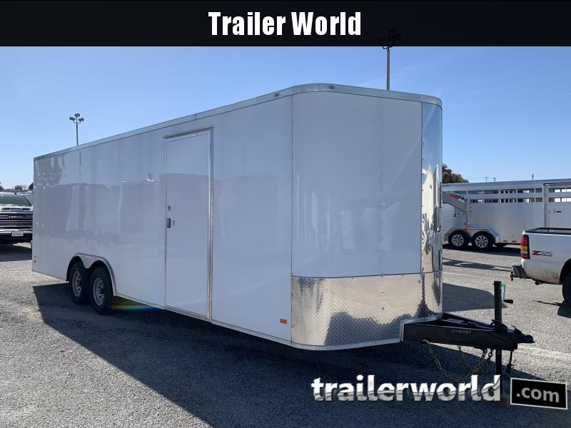2021 CW 24' Enclosed 7' tall Car Trailer 10k GVWR