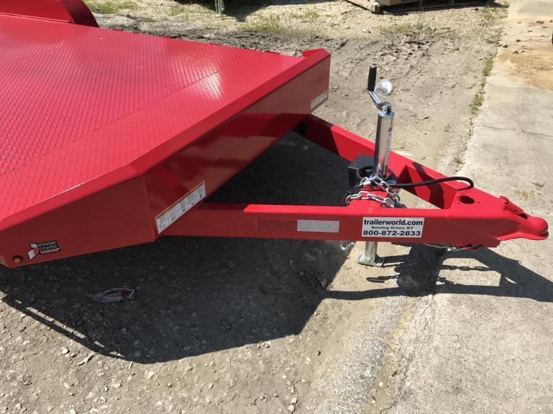 2021 Sure-Trac 20' Steel Deck Open Car Hauler Trailer