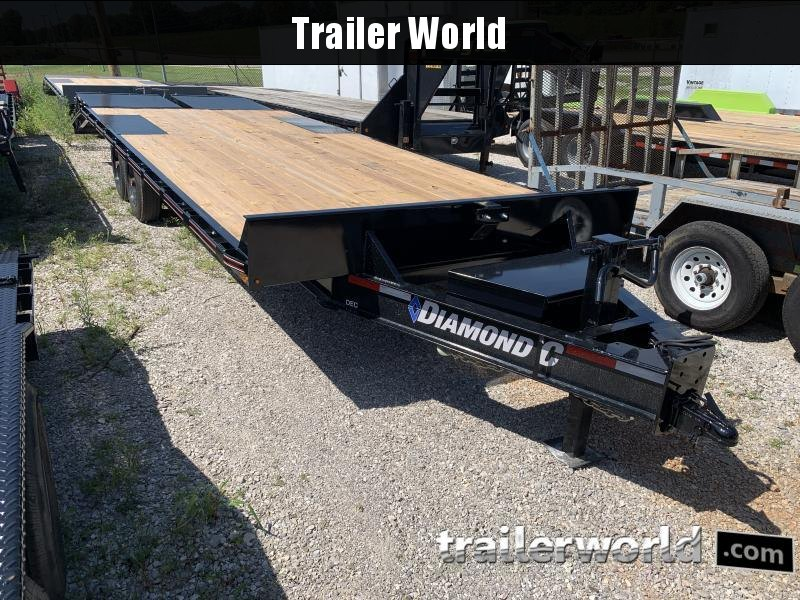 2021 Diamond C DEC208 24' Deck Over Equipment Trailer