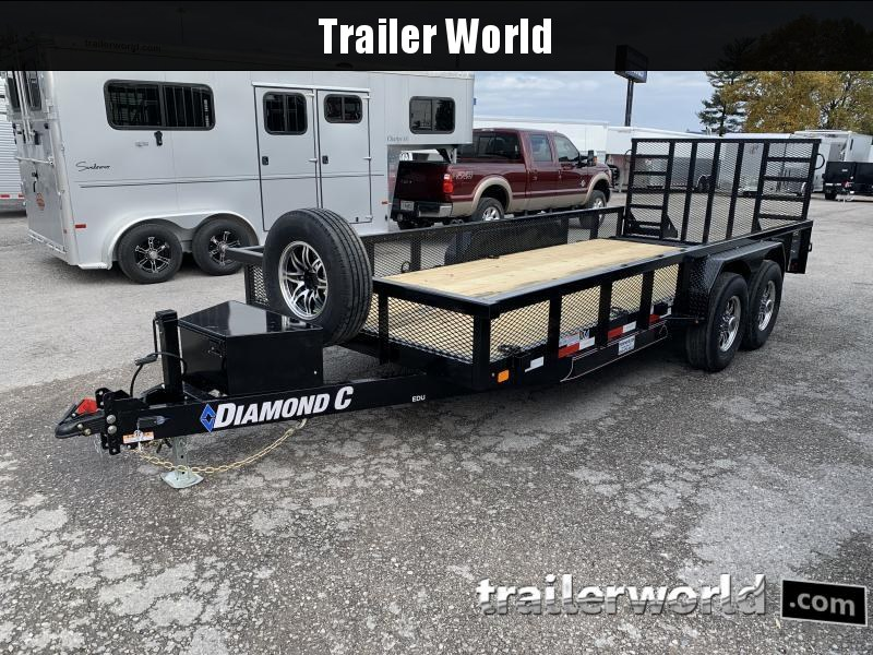2021 Diamond C Trailers EDU207 Utility Trailer