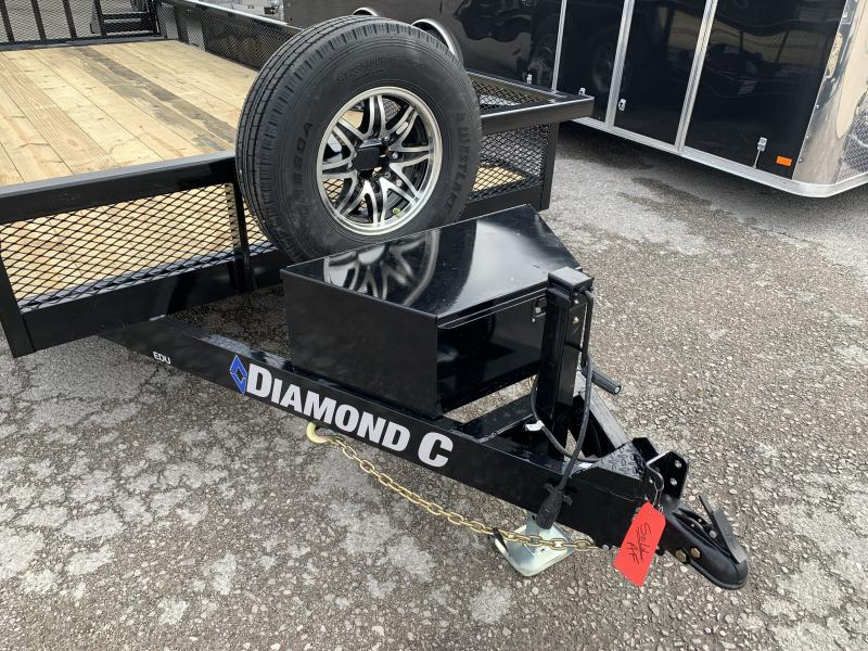 2021 Diamond C Trailers EDU207 Utility Trailer