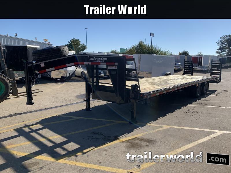 2021 Better Built 30' 10 Ton Gooseneck Flatbed Trailer