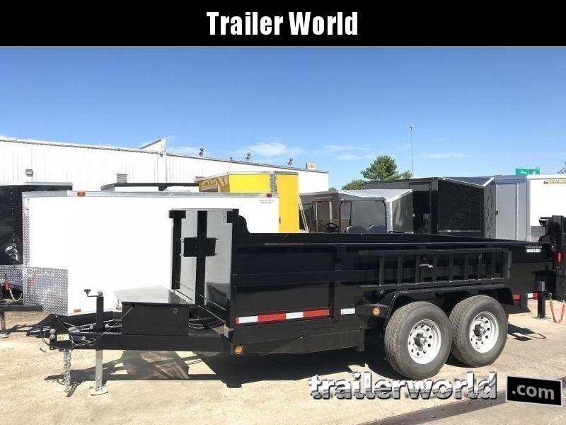 2021 QS 14' Dump Trailer 14K GVWR