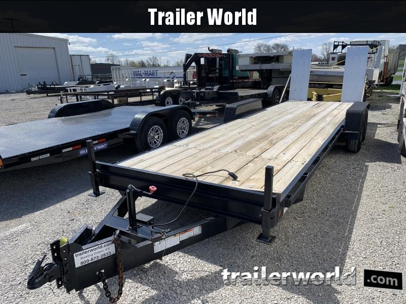 2002 Trailer World 25' Equipment Trailer