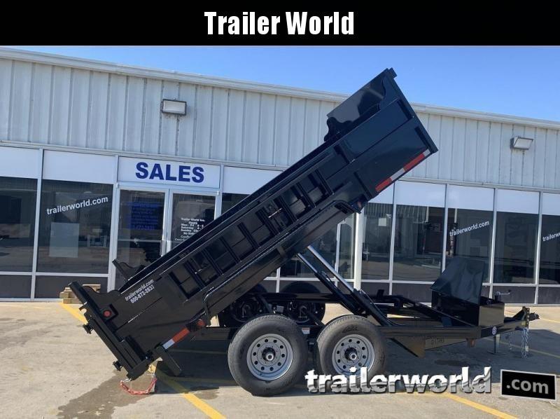 2021 QS 12' Dump Trailer 12K GVWR