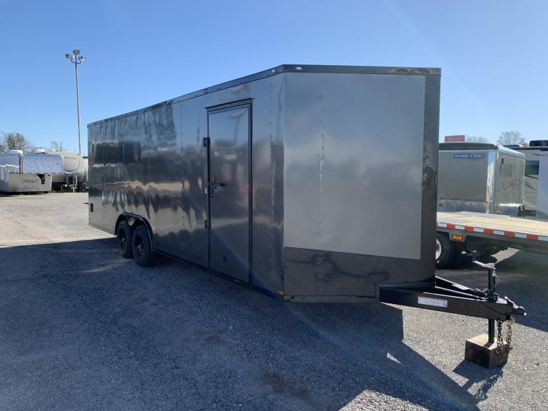 2021 Lark 8 5 x 24 x 7 Enclosed Car Trailer Ramp Door