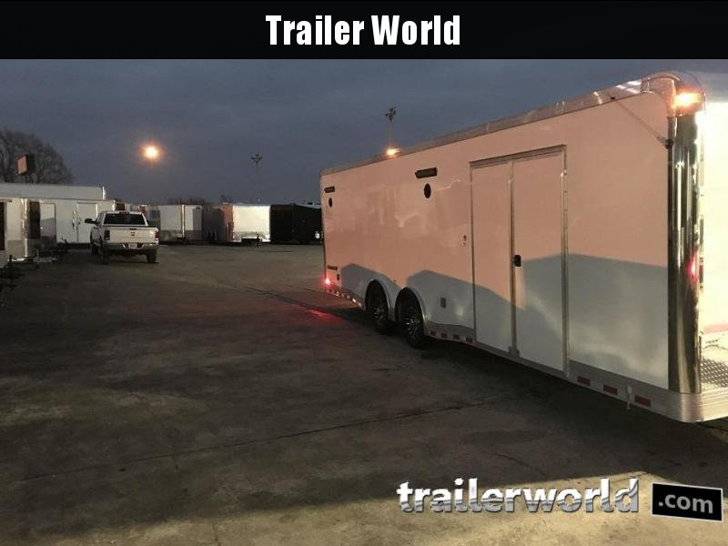 2021 Cargo Mate Eliminator 28' Aluminum Race Trailer
