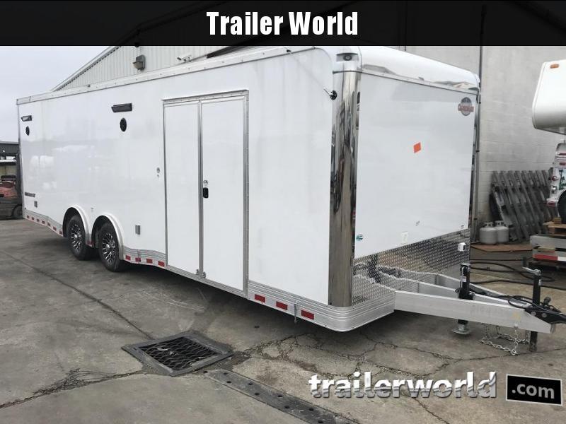 2021 Cargo Mate Eliminator 28' Aluminum Race Trailer