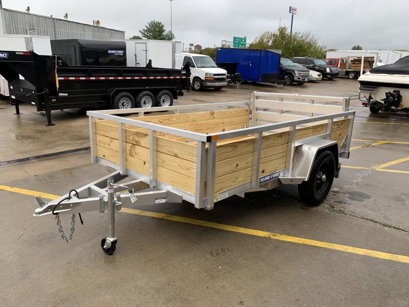 2021 Sure-Trac 6 X 10 Aluminum Tube Top Three Board  3K