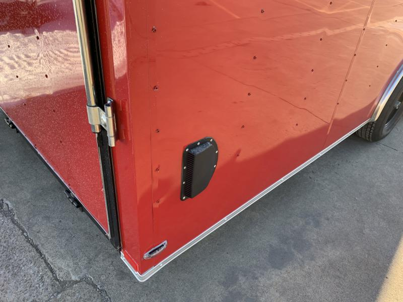2021 Lark 8 5 x 24' x 7 Enclosed Car Trailer Ramp Door