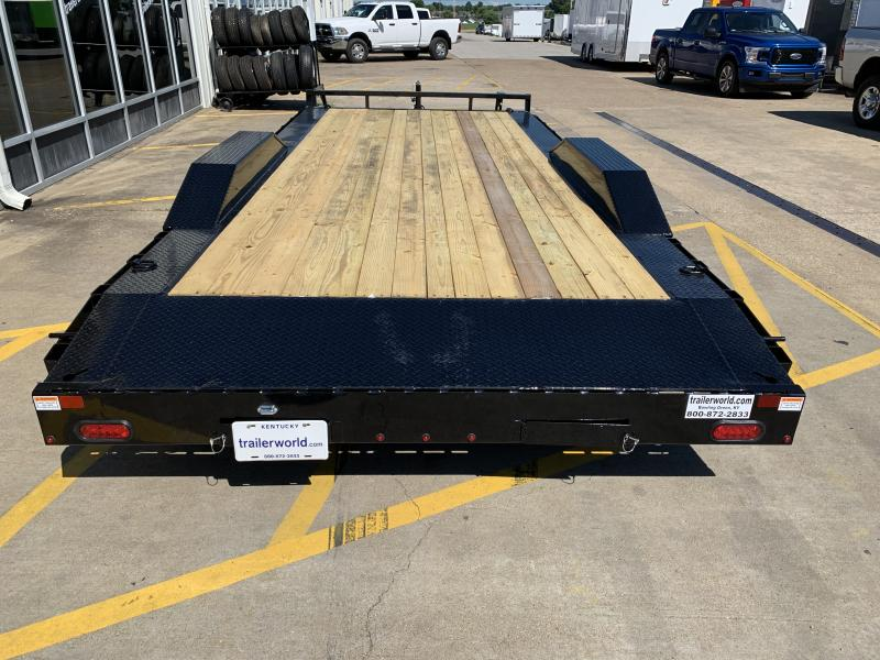 2021 Sure-Trac 8.5 X 20' 10K  Drive Over Fender Trailer