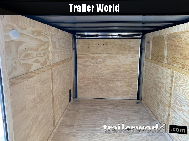 2021 CW 7' x 14' x 6.5' Vnose Enclosed Trailer Black Out