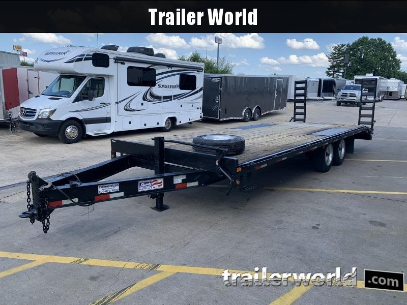 2013 Liberty 18+5 Equipment Trailer