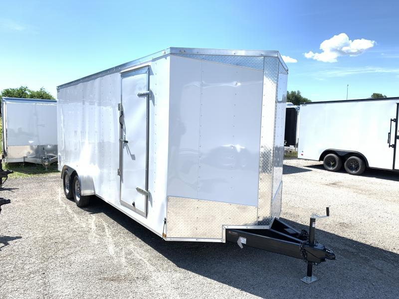 2020 Lark 7' x 20' x 7' Enclosed Cargo Ramp Door