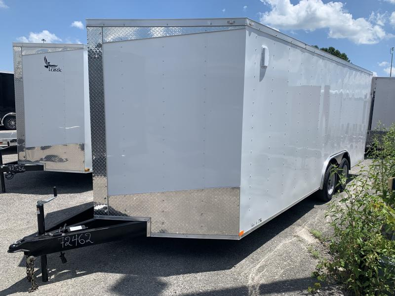2020 Lark 8.5' x 20' Enclosed Cargo Ramp Door