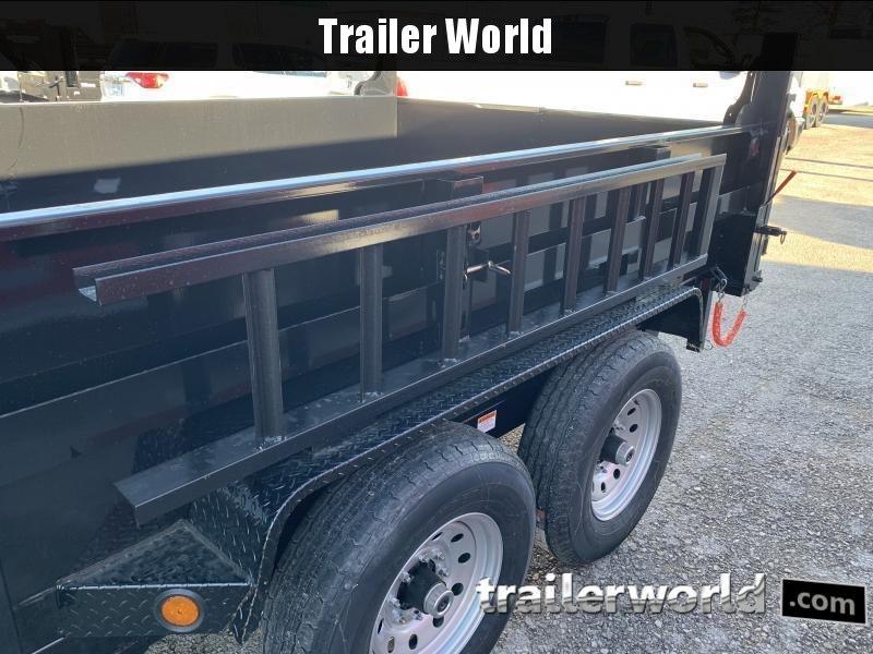 2022 Quality 12' Dump Trailer 12K GVWR