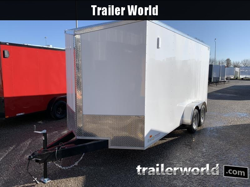 2021 CW 7' x 16' x 7'  Vnose Enclosed Cargo Trailer