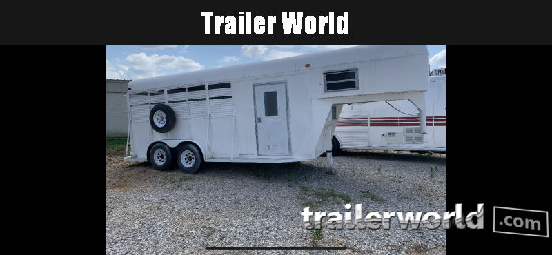 2012 Other 3 Horse Trailer Horse Trailer