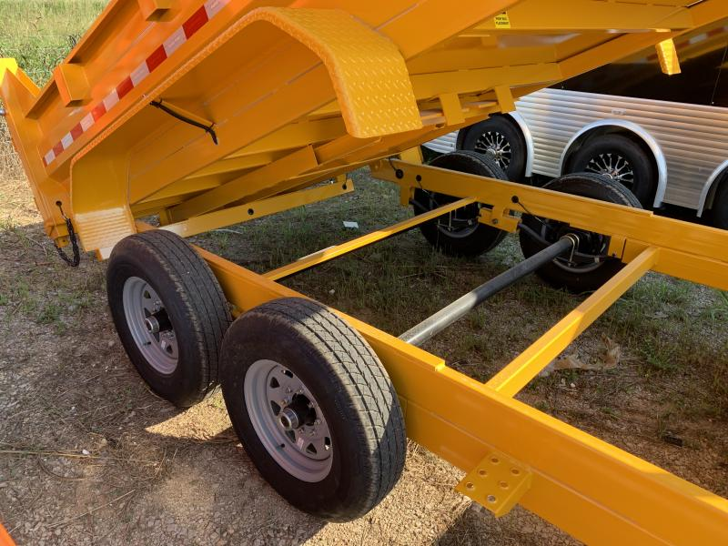 2021 Sure-Trac 14' Telescopic Dump Trailer 14k GVWR