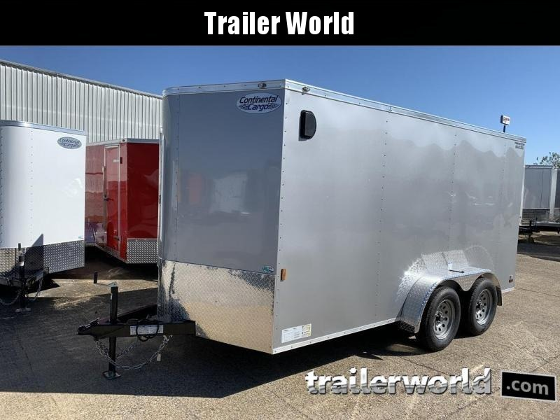 2021 Continental Cargo 7' x 14' x 6.3' Enclosed Cargo Trailer