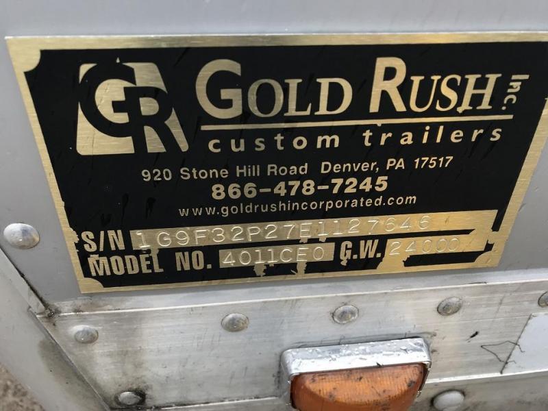 2014 Gold Rush Custom 44' Aluminum Xtreme Toy Hauler