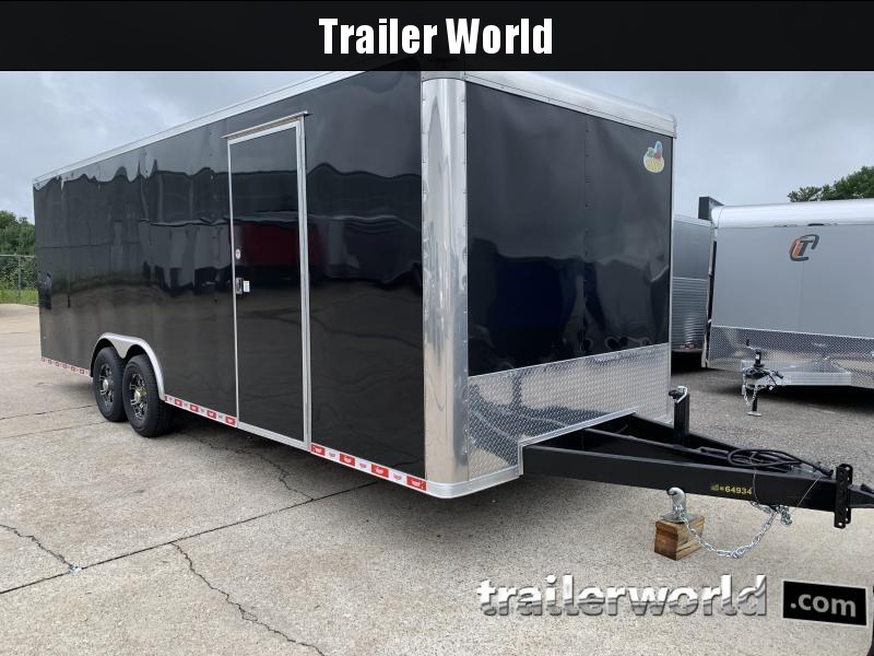 2021 Covered Wagon Trailers 8.5x24TA 7K Enclosed Car Trailer