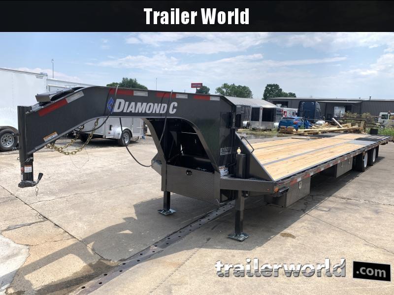 2021 Diamond C FMAX212 40' Hydraulic Dovetail Air Ride Trailer