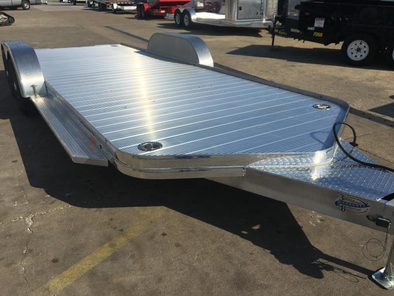 2021 Sundowner 20' Aluminum Tapered Front Open Car Hauler Trailer