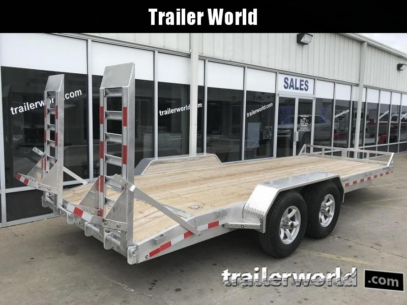 2019 Sundowner APU20BP 20 Aluminum Equipment Trailer