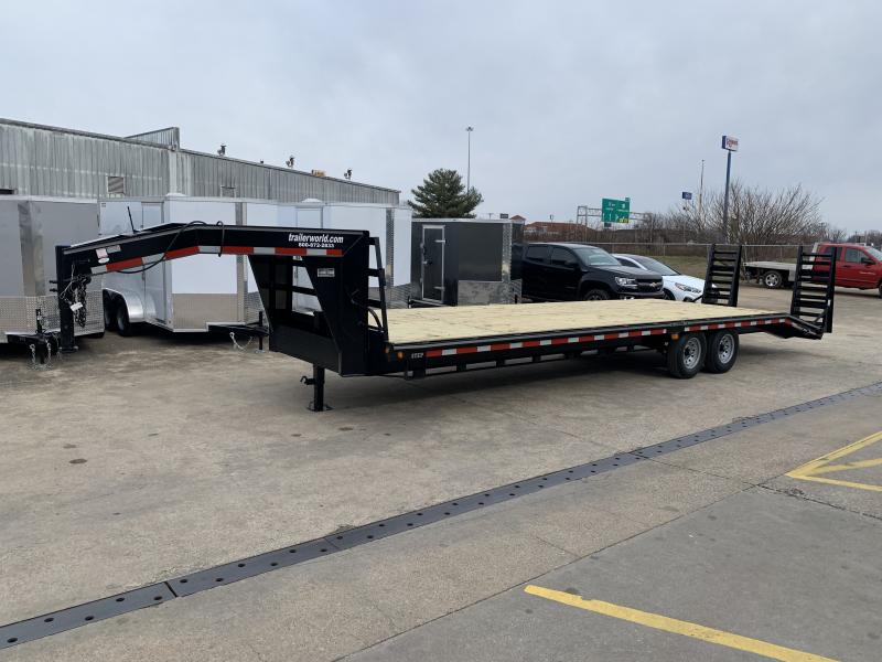 2021 Better Built 25' + 5'  7 Ton Gooseneck Flatbed Trailer