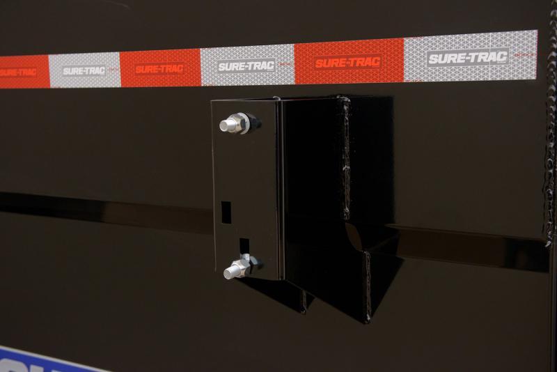 2021 Sure-Trac  14' Gooseneck Dump Trailer  14K Telescopic 4ft Sides