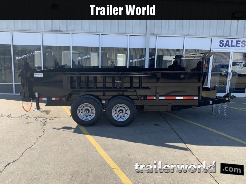 2021 Quality Steel 14 Dump Trailer 14K GVWR