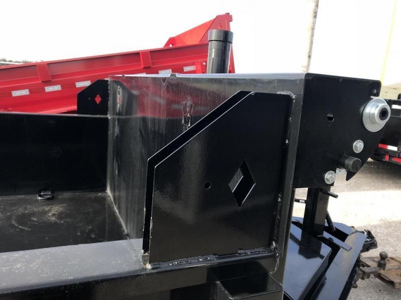 2021 Diamond C LPT 16' Dump Trailer Low Profile Commercial Grade 18K GVWR