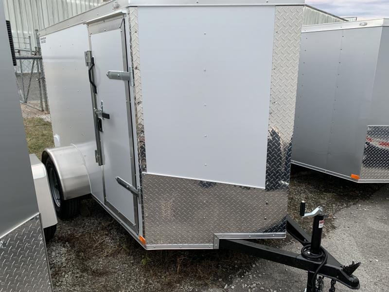 2021 LU 5x8  Enclosed Vnose Cargo Trailer