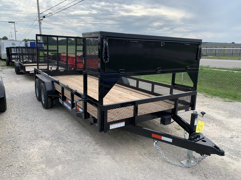 2020 Sure-Trac 18' Lawn Care Trailer  10K Tandem