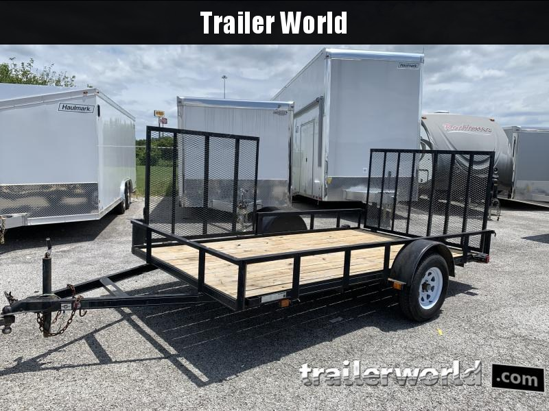 2011 Carry-On 6x12 ATV w/ Side Ramp Utility Trailer