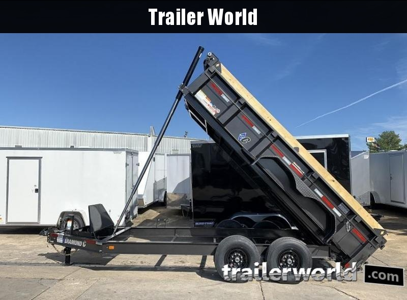 2021 Diamond C LPT 14' Dump Trailer Low Profile Commercial Grade