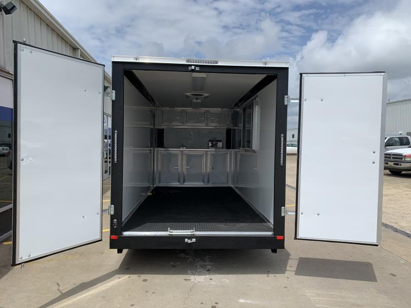 2021 Covered Wagon Trailers 7 x 16'TA Vending / Concession Trailer