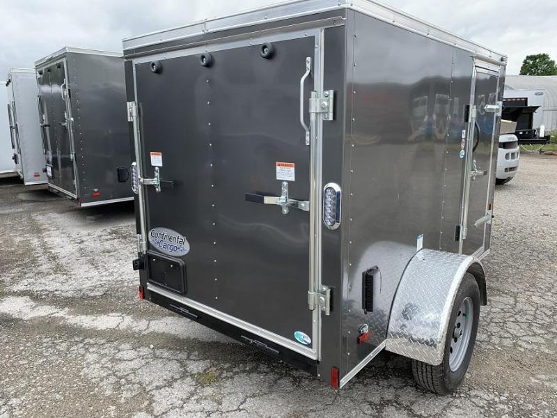 2020 Continental Cargo 5' x 8' x 4.5' V nose Enclosed Cargo Trailer